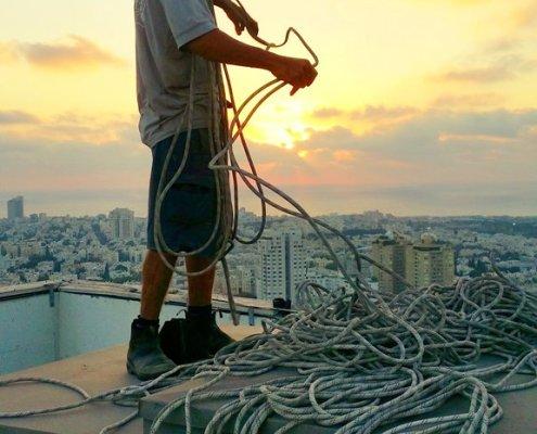 עבודות גובה בסנפלינג - אלכסטרים בכל גובה